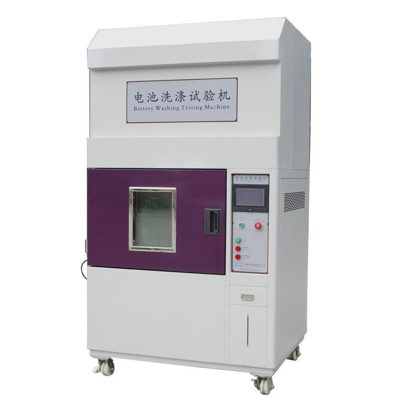 IEC62133 Laptop Battery Testing Equipment , Lithium Battery Washing Test Machine