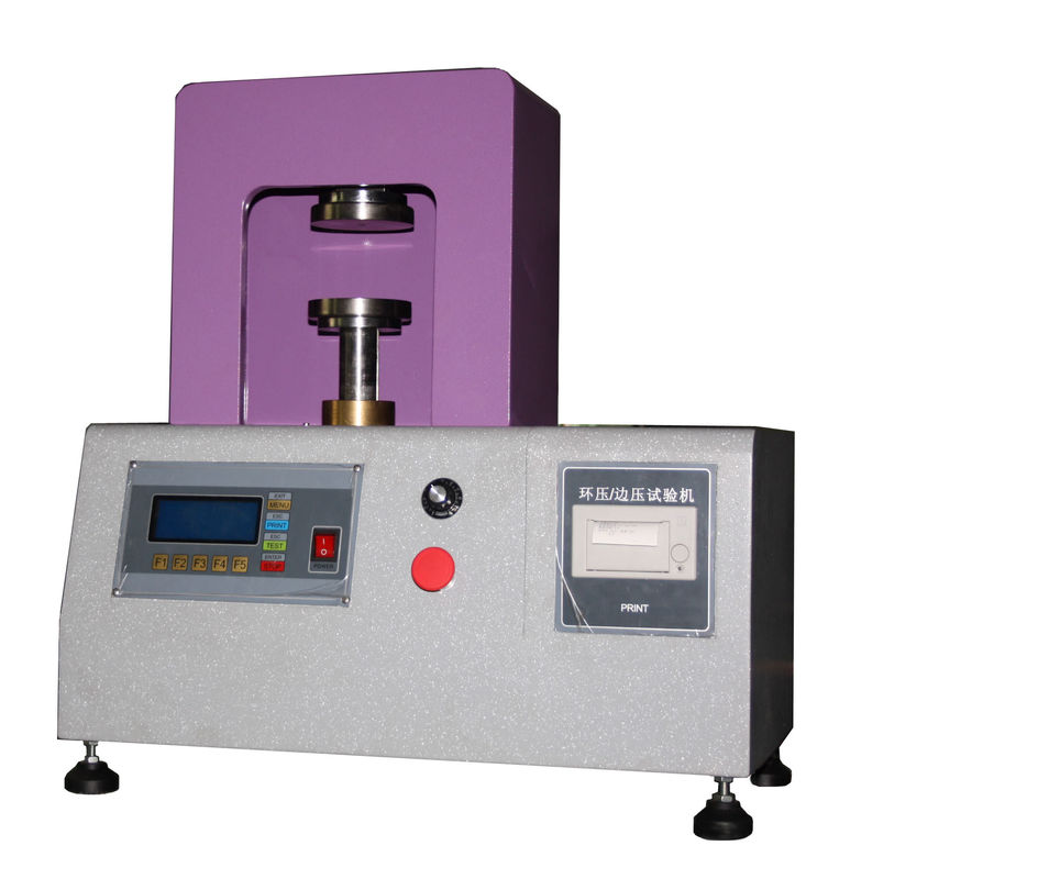 200KG Paper Testing Equipments , Vertical Compressive Strength Testing Machine